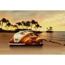 Fotografie tapet Vintage Hawaiian