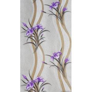 Tapet hartie Iris violet