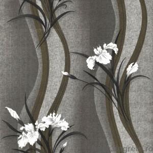 Tapet hartie Iris negru