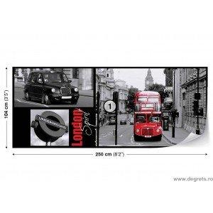 Fotografie tapet Londra Vlies