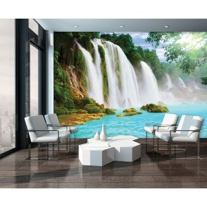 Fotografie tapet Cascada Paradis 2 3D XL