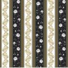 Tapet duplex Vals-Versace negru