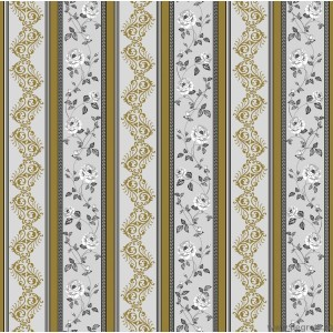 Wallpaper duplex Vals-Versace gray-gold