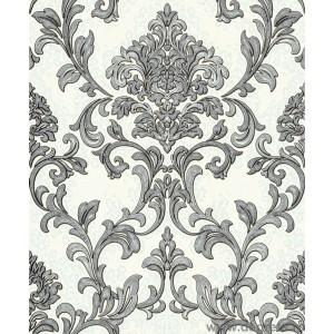 Tapet vinil Baroque gri