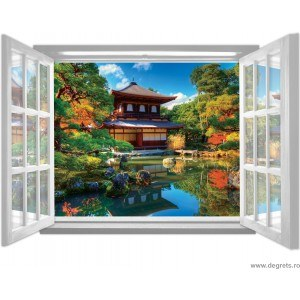 Fotografie tapet Tailanda 3D fereastra Vlies