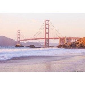 Fotografie tapet Podul Poarta de aur