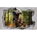 Fotografie tapet Dinozaur 3D