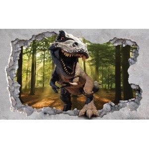 Fotografie tapet Dinozaur 3D XL