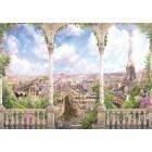 Fotografie tapet Arta Parisului panorama 3D