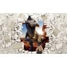 Fotografie tapet T-Rex 1 3D