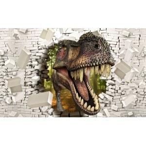 Fotografie tapet T-Rex 2 3D XL
