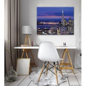 Tablou Canvas Megapolis San Francisco L