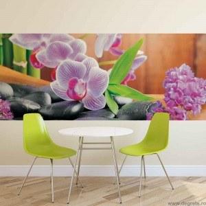 Fotografie tapet Orhidee Zen 1 Vlies