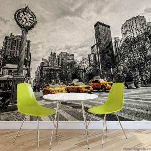 Fotografie tapet Taxi in New York 2