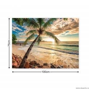 Tablou Canvas Apus in Bahamas