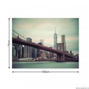Tablou Canvas Podul Brooklyn 1 L