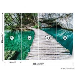 Fotografie tapet Pod in laguna 3D XL