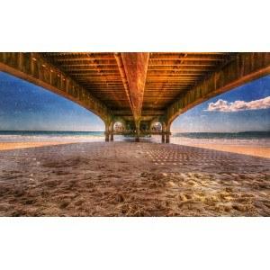 Fotografie tapet Pier