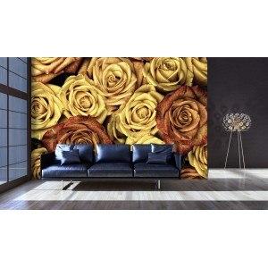 Fotografie tapet Trandafiri vintage 3D L