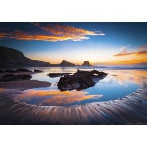 Fotografie tapet Coasta pe mare