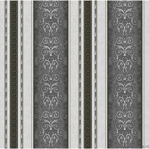 Tapet hârtie Versace Baroque alb