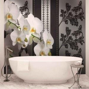 Fotografie tapet Orhidee eleganta 1 3D L