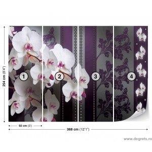 Fotografie tapet Orhidee eleganta 2 3D XL