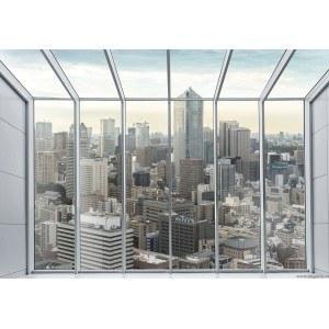 Fotografie tapet Megapolis - panorama 2 XL