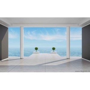 Fotografie tapet Ocean 1 3D