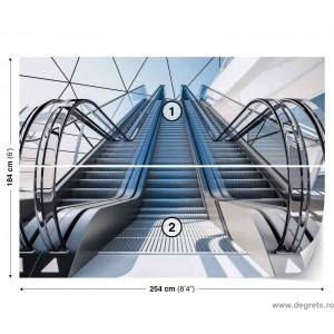Fotografie tapet Escalator