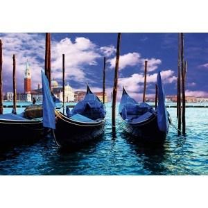 Fotografie tapet Gondole venetiene