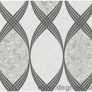Tapet duplex Infinit negru-alb
