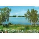 Fotografie tapet Lacul Volga