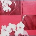 Tapet PVC Orhidee rosu