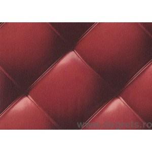 Tapet PVC Piele rosu