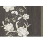 Tapet hârtie Melania - Versace negru-alb