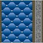 Tapet hartie Eileen 3D 2 albastru