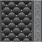 Tapet hartie Eileen 3D 2 negru-argintiu