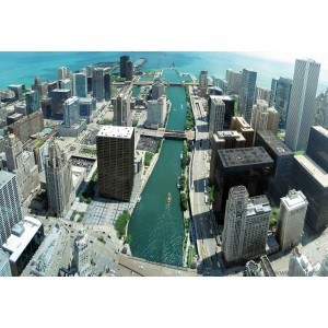 Fotografie tapet Chicago L