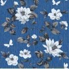 Tapet hartie Taisiya albastru