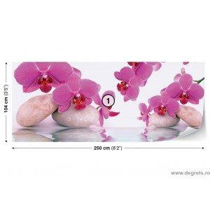 Fotografie tapet Orhidee Zen 2 Vlies