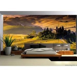 Fotografie tapet Toscana