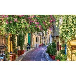 Fotografie tapet Strada colorata