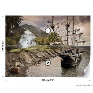 Fotografie tapet Nava piratilor