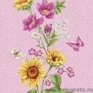 Tapet impermeabil Vara roz