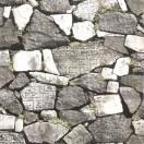 Tapet impermeabil Zid de piatra 3D gri