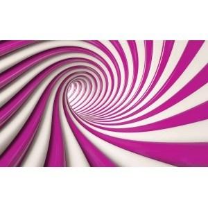 Fotografie tapet Rotatie Abstracta 3D XL
