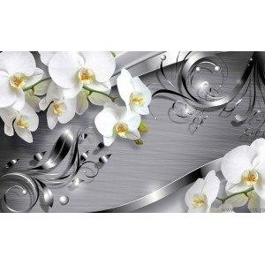 Fotografie tapet Abstractie Orhidee 4 3D