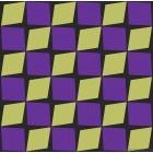 Tapet impermeabil Lalin galben-mov