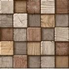 Wallpaper waterproof Domiano 3D brown